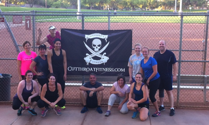 Cutthroat Fitness - Multiple Locations: Four Weeks of Unlimited Boot-Camp Classes at Cutthroat Fitness (65% Off)