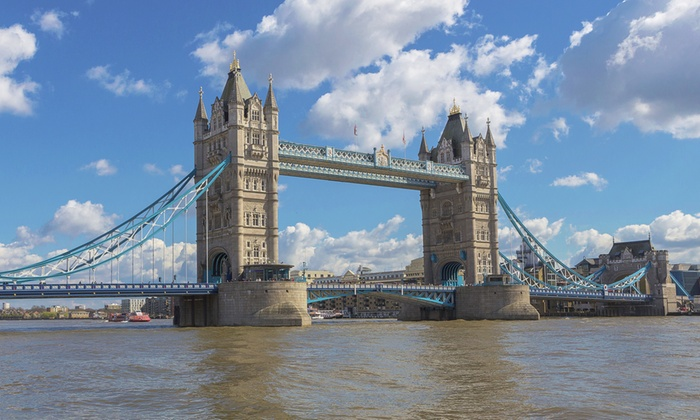 River Thames Tours - Central London: Thames River Tours: 2.5-Hour Cruise With Afternoon Tea from £26 (51% Off)