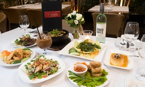 VietCharm: Six-Course Banquet with Wine for Two ($59) or Four People ($89) at VietCharm (Up to $216.8 Value)
