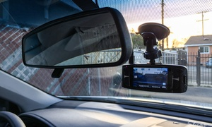 Lucky's: Auxiliary Input and Installation or HD Dash Camera and Installation atLucky's (Up to43% Off)