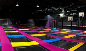 Bounce Revolution: One-Hour Bounce Session for One, Two or Four at Bounce Revolution (Up to 48% Off)