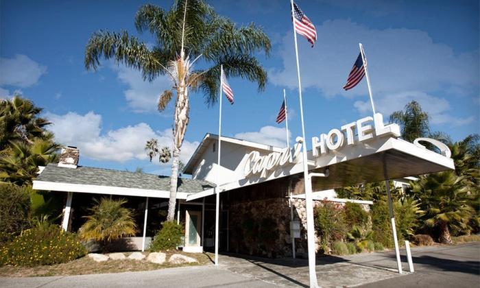 The Capri Hotel - Ojai, CA: One-Night Stay with One Bottle of Wine at The Capri Hotel in Ojai, CA