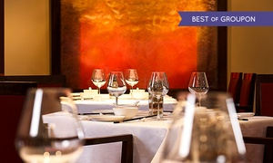 Le Chinois Restaurant and Bar: Three-Course AA rosette Chinese Meal With Prosecco For Two from £34 at Le Chinois Restaurant and Bar (56% Off)