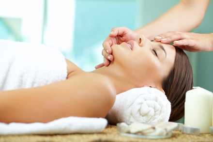 $55 for Spa Package with Facial, Chair Massage, and Additional Service at Affinity Salon & Spa ($115 Value)