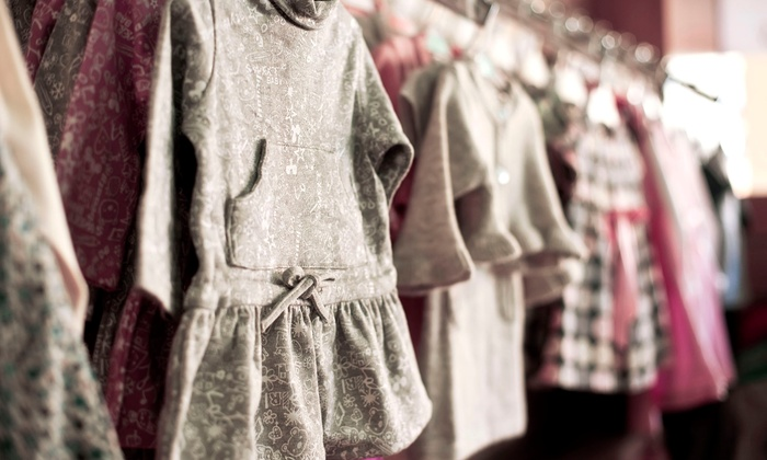 Peek-A-Boo Couture - Cornelius: Children's Clothing and Accessories at Peek-A-Boo Couture (50% Off). Two Options Available.
