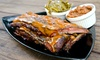 Up to 52% Off at Blue Front BBQ Restaurant & Lounge
