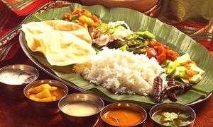 Luck Indian Restaurant: Indisches 3-Gänge Menü inkl. Aperitif für 2 oder 4 Personen im Luck Indian Restaurant (bis zu 59% sparen*)