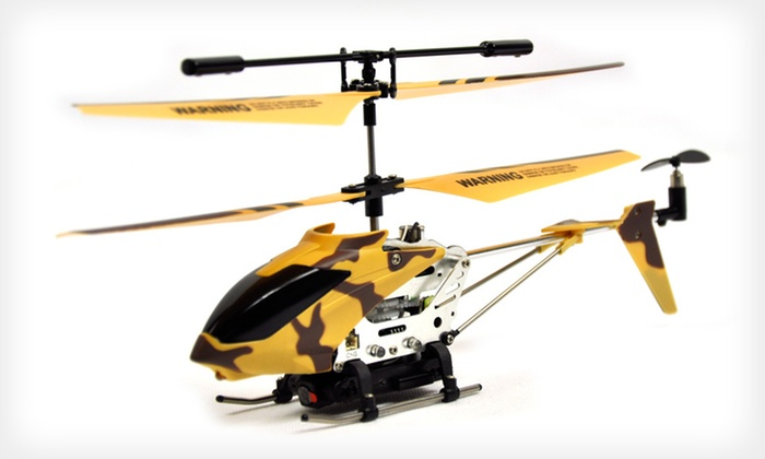 Remote-Controlled Video Helicopter : $49 for a Remote-Controlled Video Helicopter ($119 List Price). Five Colors Available. Free Shipping and Free Returns.