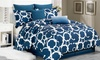 Rhys 7-Piece Oversized and Overfilled Comforter Set: Rhys 7-Piece Oversized and Overfilled Comforter Set