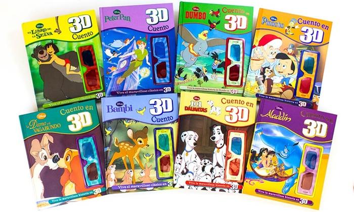 Disney 3D Storybooks in Spanish   Groupon Goods