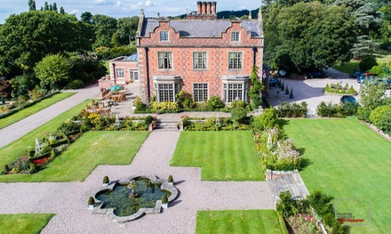 Cheshire: Classic Room for Two with Breakfast, 3Course Dinner and Option for Afternoon Tea at Willington Hall Hotel