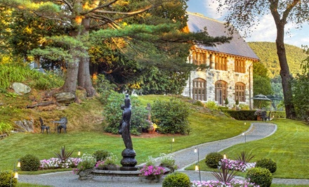 1 or 2 Nights for Two in a Castle Queen Room or Condo Hotel Room at Castle Hill Resort and Spa in Proctorsville, VT