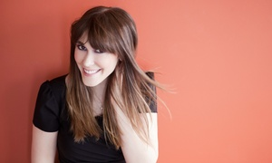 Edge Salon & Spa: Cut and Shampoo with Options for Partial or Full Highlights or Keratin Treatment at Edge Salon & Spa (Up to 65% Off)