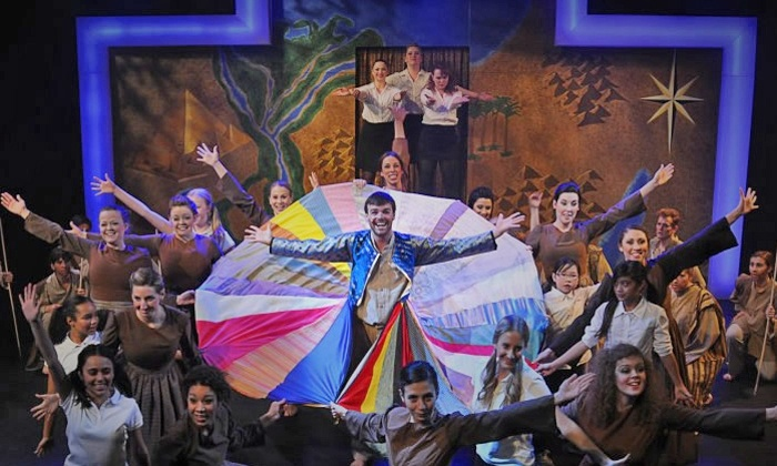 """""""Joseph and the Amazing Technicolor Dreamcoat"""" - Downtown Toronto: """"Joseph and the Amazing Technicolor Dreamcoat"""" at Al Green Theatre on December 19–January 5 (Up to 50% Off)"""