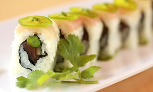 Roll On Sushi Diner: Traditional and Austin-Inspired Sushi at Roll On Sushi Diner (Up to 50% Off). Two Options Available.