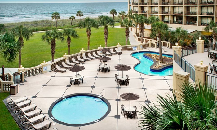 null - Charleston: Stay with Daily Breakfast at Springmaid Beach Resort in Myrtle Beach, SC