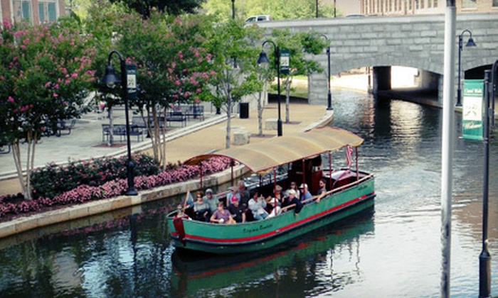 River District Canal Cruises - Riverfront: $6 for a 40-Minute Historical Canal Cruise for Two from River District Canal Cruises (Up to $12 Value)
