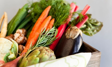 $25 for an Organic-Produce Package from Organics of Naples ($41.98 Value)