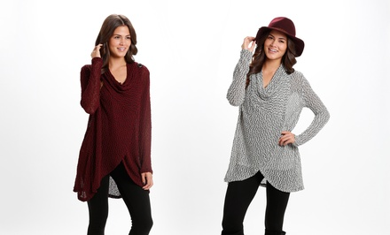 Women's Asymmetrical Cardigan