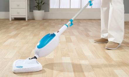 Easy Steam Mop for £24.98 with Optional Three Additional Pads for £27.98 With Free Delivery