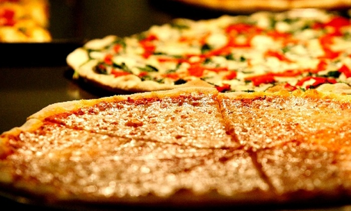 """Della's Kitchen - Tarzana: Two 10"""" or 14"""" 3-Topping or Specialty Pizzas at Della's Kitchen (Up to 53% Off)"""