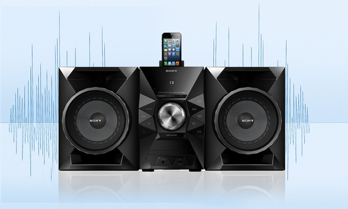 Sony Hi-Fi Music System With Dock for £85 98 With Free Delivery