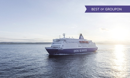 Amsterdam: 2Night Return Mini Cruise for Two or Four with £10 OnBoard Voucher with DFDS