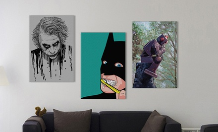 Geek Wall Art on Gallery Wrapped Canvas