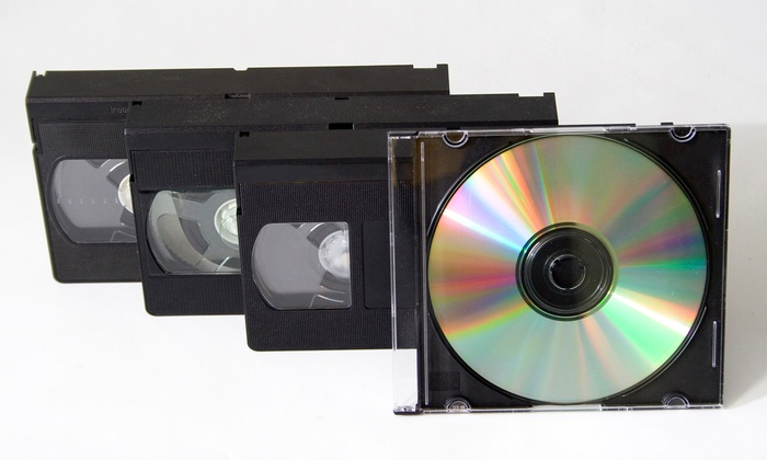 Delp Video Services - Oak Park: One, Two, or Five Videotape-to-DVD Conversions from Delp Video Services (Up to 61% Off)