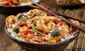 Red Sun Buffet: Chinese Lunch or Dinner Buffet for Two at Red Sun Buffet (Up to 45% Off). Four Options Available.