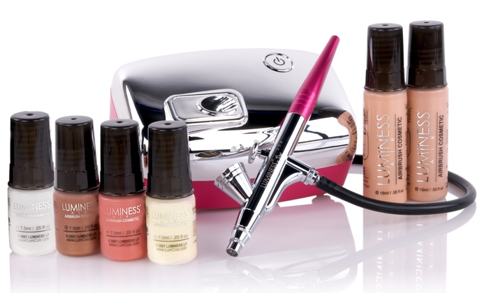 Airbrush Makeup System Groupon Goods