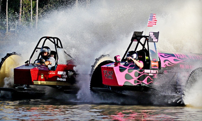 Swamp Buggy Races - Florida Sports Park: $12 for Outing for Four to Swamp Buggy Races' Practice Race on Saturday, March 2 ($24 Value)