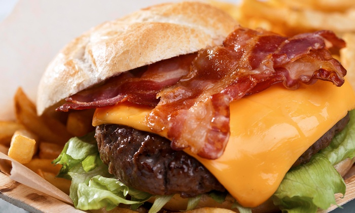 J&M Cafe - Seattle: Lunch for Two or $17 for $30 Worth of Burgers at J&M Cafe