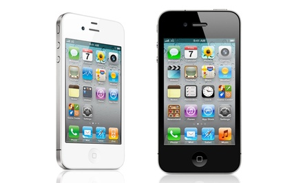 Apple iPhone 4 for Verizon and Page Plus (Refurbished). 8GB, 16GB, and 32GB Models from $119.99–$149.99.