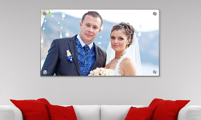 personalized photo acrylic prints from canvaschamp com groupon