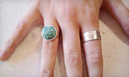 Four-Hour Jewelry Technique Class or Two or Five-Week Beginning Jewelry Class at Amalgam Arts Atlanta (47% Off)