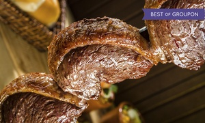 Gauchos Churrascaria: Brazilian Steak-House Dinner at Gauchos Churrascaria (Up to 42% Off). Two Options Available.