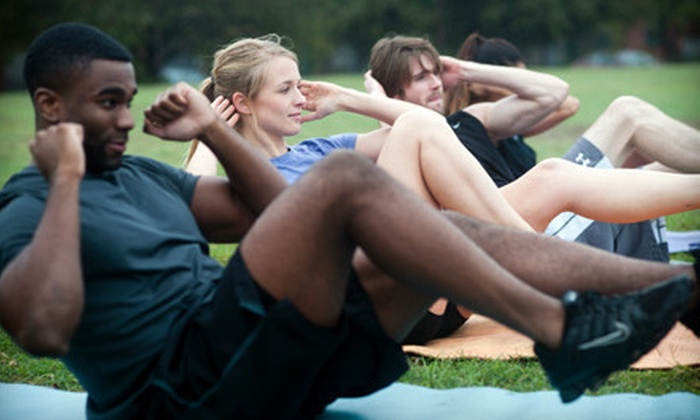 Camp Gladiator - Multiple Locations: $69 for Four Weeks of Unlimited Boot-Camp Sessions at Camp Gladiator ($160 Value)