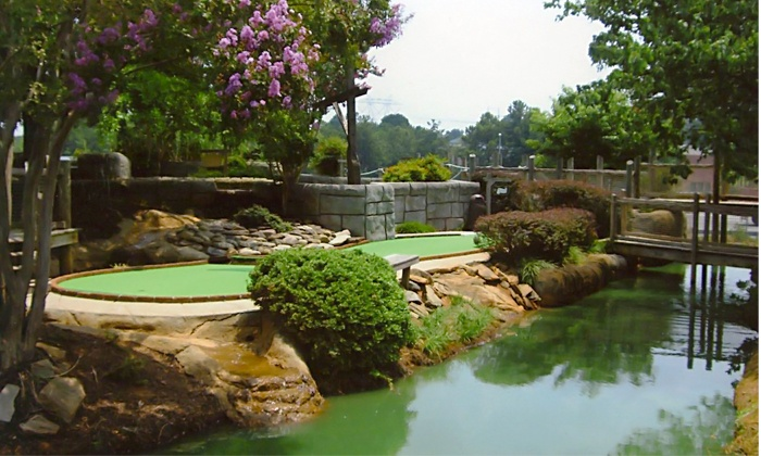 Pirates Cove Miniature Golf - Suwanee-Duluth: 27 Holes of Mini Golf for Two or Four at Pirates Cove Adventure Golf (45% Off)