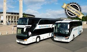 berlinlinienbus: 1 Ticket für eine einfache Fahrt mit berlinlinienbus(bis zu 76% sparen*)