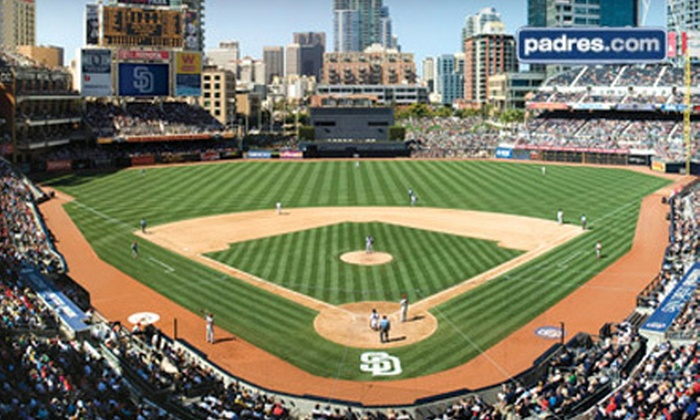 San Diego Padres - East Village: San Diego Padres Game at Petco Park on August 3, 5, 17, or 20 (Half Off). Two Seating Options Available.