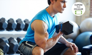 Academia Ativa: Academia Ativa – Aparecida: 1, 3, 6 ou 9 meses de musculação e spinning