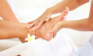 S Spa Nails: Deluxe or Supreme Pedicure at S Spa Nails (50% Off)