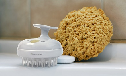 Vitagoods Scalp-Massaging Shampoo Brush. Free Returns.