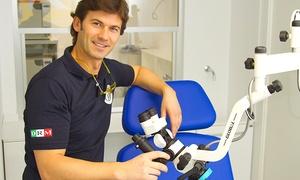 CLINICHE DRM: Visita odontoiatrica con pulizia denti o in più sbiancamento