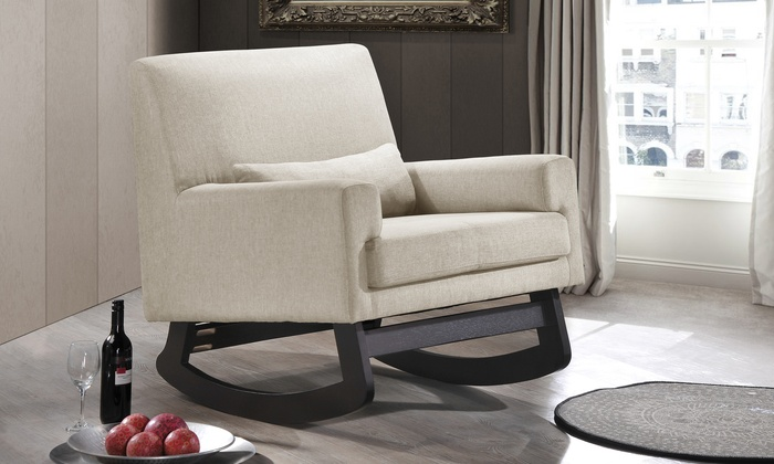 Lizzie Upholstered Rocking Chair: Lizzie Upholstered Rocking Chair ...