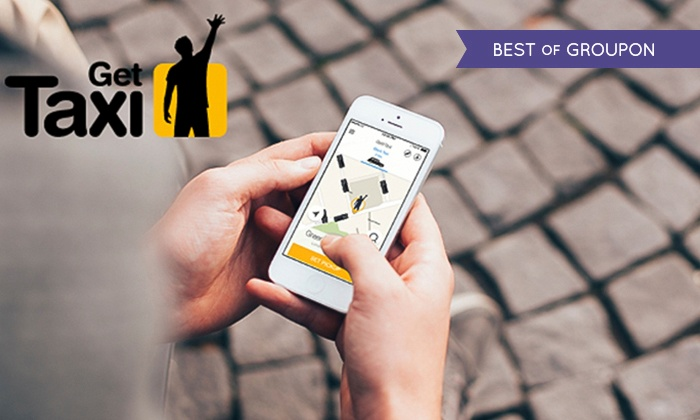GetTaxi: £3 for £15 Credit with GetTaxi (Up to 80% Off)