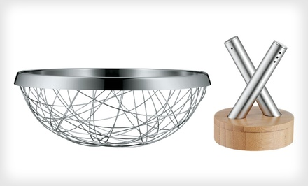 Steel Bread-Basket Set | Groupon Goods