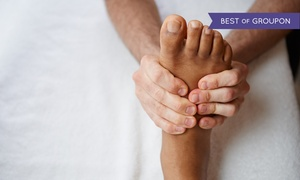 teMassage: Reflexology Treatments at teMassage (Up to 52% Off). Four Options Available.