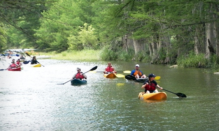 Texas Pack and Paddle - Texas Pack and Paddle: Three-Hour Kayaking Class or Four-Hour Guided Kayak Tour for One, Two, or Four from Texas Pack & Paddle (Up to 56% Off)